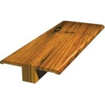 "Shaw Pebble Hill: T-mold Weathered Saddle Hickory - 78"" Long"