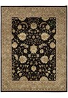 Capel Rugs Creative Concepts Cane Wicker - Long Hill Ebony (340) Octagon 6' x 6' Area Rug