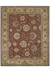 Capel Rugs Creative Concepts Cane Wicker - Heritage Denim (447) Octagon 6' x 6' Area Rug