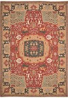Capel Rugs Creative Concepts Cane Wicker - Paddock Shawl Persimmon (810) Runner 2' 6