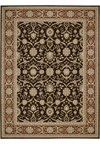 Capel Rugs Creative Concepts Cane Wicker - Coral Cascade Navy (450) Runner 2' 6