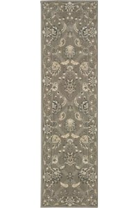 Capel Rugs Creative Concepts Cane Wicker - Canvas Lawn (227) Rectangle 3' x 5' Area Rug