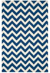 Capel Rugs Creative Concepts Cane Wicker - Batik Indigo (415) Rectangle 4' x 4' Area Rug