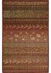 Capel Rugs Creative Concepts Cane Wicker - Canvas Camel (727) Rectangle 4' x 4' Area Rug