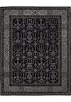 Capel Rugs Creative Concepts Cane Wicker - Sidewalk Lacquer-Ebony (920) Rectangle 4' x 4' Area Rug