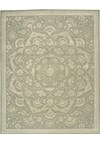 Capel Rugs Creative Concepts Cane Wicker - Canvas Parrot (247) Rectangle 4' x 6' Area Rug