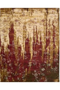 Capel Rugs Creative Concepts Cane Wicker - Canvas Buttercup (127) Rectangle 5' x 8' Area Rug