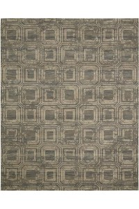Capel Rugs Creative Concepts Cane Wicker - Long Hill Ebony (340) Rectangle 9' x 12' Area Rug
