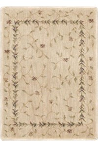 Capel Rugs Creative Concepts Cane Wicker - Brannon Whisper (422) Rectangle 10' x 14' Area Rug
