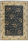 Capel Rugs Creative Concepts Cane Wicker - Canvas Sun Tile (612) Rectangle 10' x 14' Area Rug