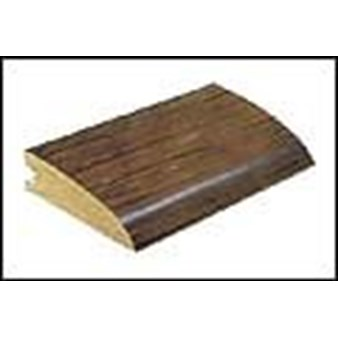 "Mannington Trade Winds Collection:  Canelo Teak Plank Natural Reducer - 84"" Long"
