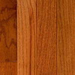 "Signature Pre-Finished Hand-Scraped Oak: Gunstock 3/4"" x 4 3/4"" Solid Hardwood"