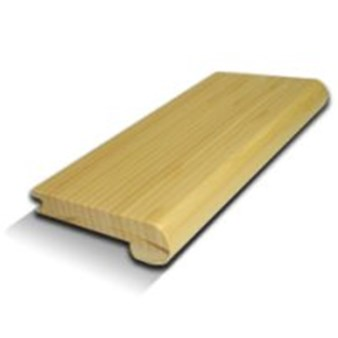 "ECOfusion Strandwoven Bamboo: Stair Nose Natural - 72 7/8"" Long"