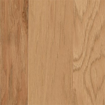 "Mohawk Warrenton: Hickory Golden Caramel 3/8"" x 3"" Engineered Hardwood WEC38 20"