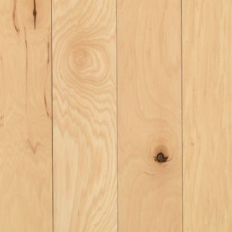 "Mohawk Rockford: Hickory Natural 3/4"" x 2 1/4"" Solid Hickory Hardwood WSC76-10"