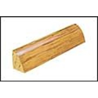 "Mannington Trade Winds Collection:  Canelo Teak Plank Natural Quarter Round - 84"" Long"