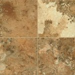 Armstrong Alterna Athenian Travertine: Honey Onyx Luxury Vinyl Tile D2340