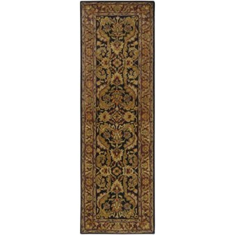 "Surya Ancient Treasures Ink (A-103) Rectangle 2'6"" x 8'0"""