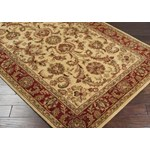 "Surya Ancient Treasures Biscotti (A-111) Square 1'6"" x 1'6"""