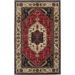 "Surya Ancient Treasures Federal Blue (A-134) Rectangle 5'0"" x 8'0"""