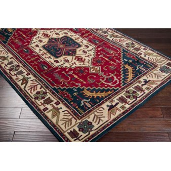 "Surya Ancient Treasures Federal Blue (A-134) Rectangle 9'0"" x 13'0"""