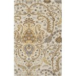 "Surya Ancient Treasures Oatmeal (A-165) Rectangle 5'0"" x 8'0"""