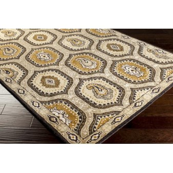 "Surya Ancient Treasures Stone (A-173) Rectangle 3'3"" x 5'3"""