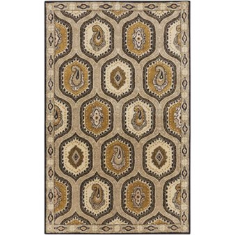 "Surya Ancient Treasures Stone (A-173) Rectangle 5'0"" x 8'0"""