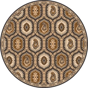 "Surya Ancient Treasures Stone (A-173) Round 8'0"" x 8'0"""