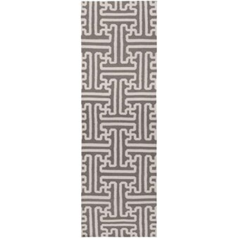 "Surya Smithsonian Archive Taupe Beige (ACH-1702) Rectangle 2'6"" x 8'0"""