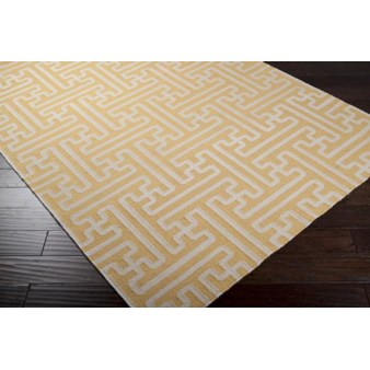 "Surya Smithsonian Archive Golden Raisin (ACH-1707) Rectangle 3'6"" x 5'6"""