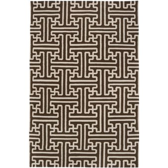 "Surya Smithsonian Archive Coffee Bean (ACH-1710) Rectangle 5'0"" x 8'0"""