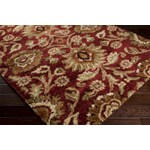 "Surya Alfredo Maroon (AFR-3315) Rectangle 2'0"" x 3'0"""