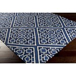 "Surya Beth Lacefield Alameda Sapphire Blue (AMD-1005) Square 1'6"" x 1'6"""