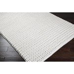 "Surya Anchorage Winter White (ANC-1000) Square 0'6"" x 0'6"""