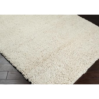 "Surya Aros Winter White (AROS-2) Square 0'6"" x 0'6"""
