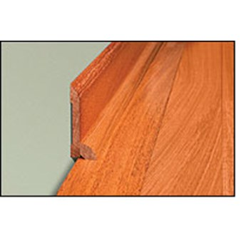 "Mohawk Aria: Quarter Round Natural Hickory - 84"" Long"