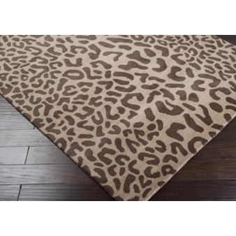"Surya Athena Driftwood Brown (ATH-5000) Rectangle 6'0"" x 9'0"""