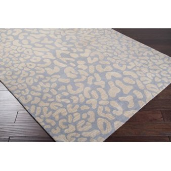 "Surya Athena Taupe (ATH-5001) Rectangle 4'0"" x 6'0"""