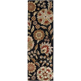 "Surya Athena Black Olive (ATH-5017) Rectangle 2'6"" x 8'0"""