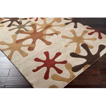 "Surya Athena Taupe (ATH-5019) Rectangle 2'0"" x 3'0"""