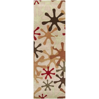 "Surya Athena Taupe (ATH-5019) Rectangle 2'6"" x 8'0"""