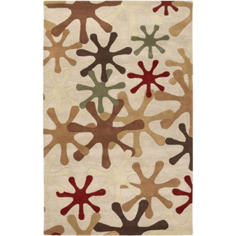 "Surya Athena Taupe (ATH-5019) Rectangle 5'0"" x 8'0"""