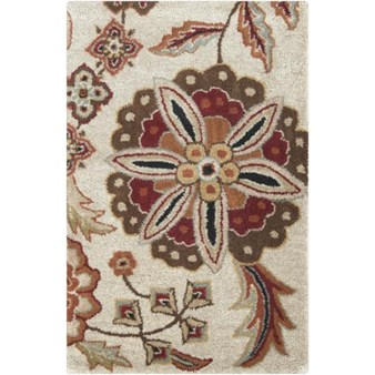 "Surya Athena Taupe (ATH-5035) Rectangle 2'0"" x 3'0"""