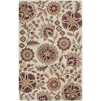 "Surya Athena Taupe (ATH-5035) Rectangle 5'0"" x 8'0"""