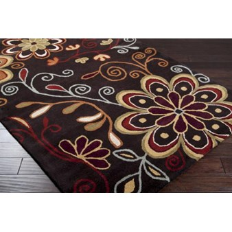 "Surya Athena Espresso (ATH-5037) Rectangle 2'0"" x 3'0"""