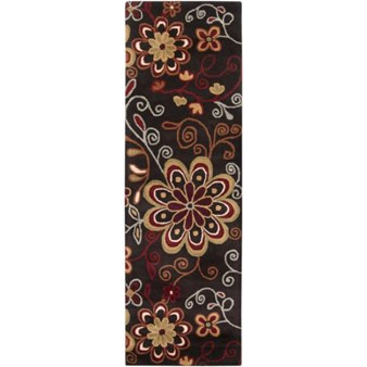 "Surya Athena Espresso (ATH-5037) Rectangle 2'6"" x 8'0"""