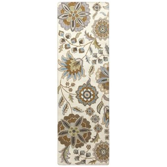 "Surya Athena Ivory (ATH-5063) Rectangle 2'6"" x 8'0"""