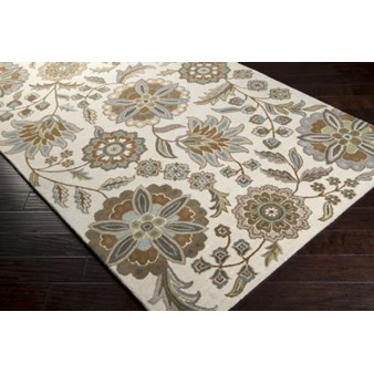 "Surya Athena Ivory (ATH-5063) Rectangle 6'0"" x 9'0"""