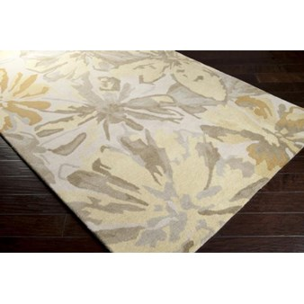 "Surya Athena Ivory (ATH-5071) Rectangle 4'0"" x 6'0"""